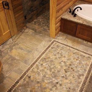 Bathroom, Ceramic, Porcelain and Natural Stone