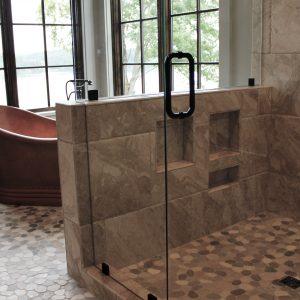 Bathroom, Natural Stone too