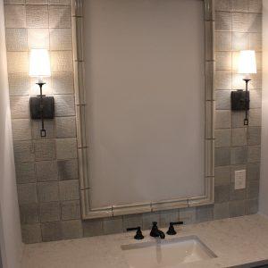 Bathroom, ceramic, wall