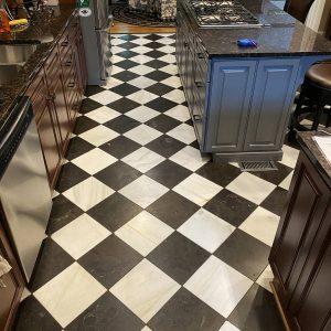 Kitchen, Floor, Natural Stone
