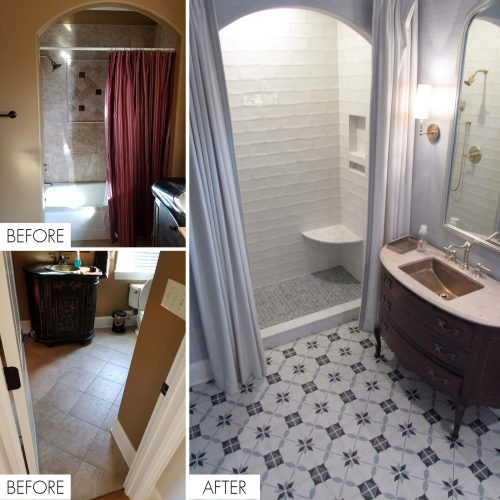 Exact Tile | Tile Design in Knoxville, TN | Before and After